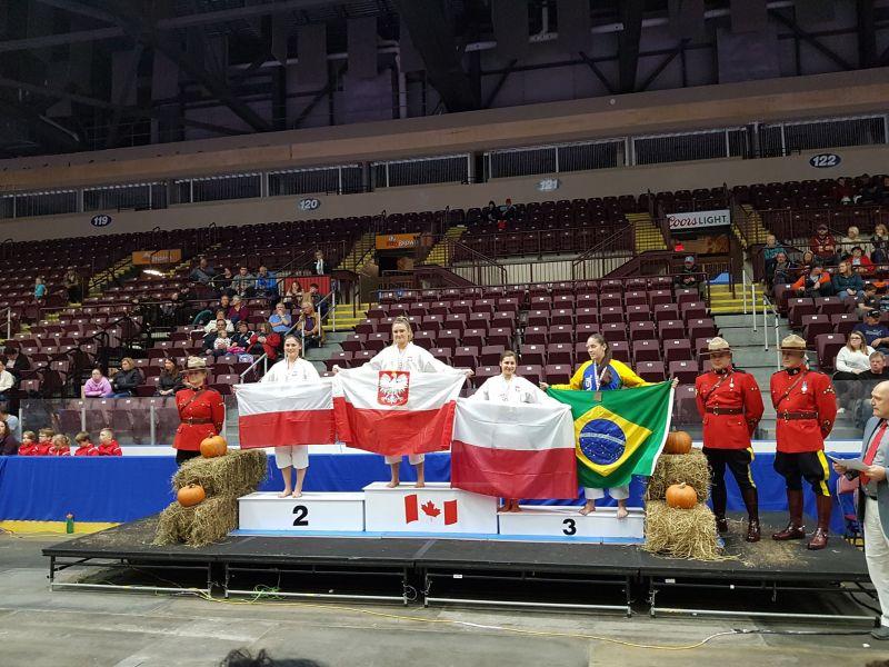 Małgorzata Kipczak Wicemistrzynią Świata w Karate
